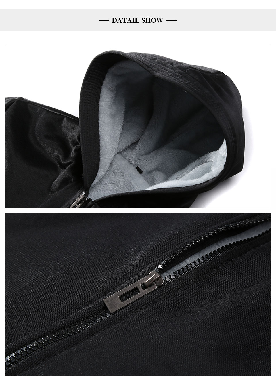 HTB1X3UTXEz1gK0jSZLeq6z9kVXag LBL Winter Mens Fleece Jacket Thick Solid Bomber Jackets Men Slim Fit Hooded Coat Man Autumn Warm Tracksuit New Men's Sportswear