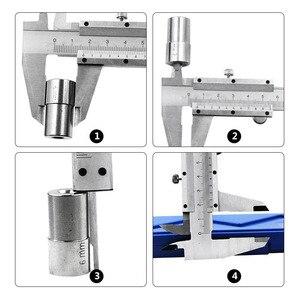 """Image 5 - Pied à coulisse en métal 6 """"0 150mm 0.02mm, jauge micromètre outils de mesure"""