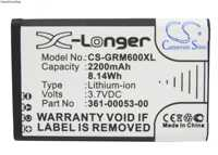 Cameron Sino 2200 mAh Batterie 010-11599-00,361-00053-00 für Garmin Alpha 100 handheld, montana 600, 600 T, 600 t Camo, 650, 650 T