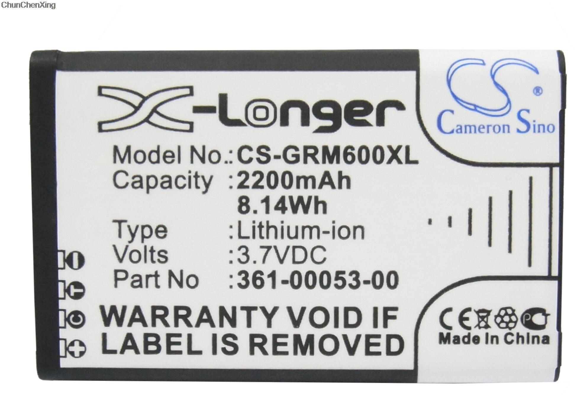 Expressive Cameron Sino 2200mah Battery 010-11599-00,361-00053-00 For Garmin Alpha 100 Handheld, Montana 600, 600t, 600t Camo, 650, 650t