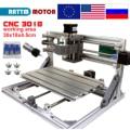 EU Schiff!! CNC 3018 GRBL control Diy CNC maschine 30x18x4 5 cm  3 achse Pcb Pvc Fräsen maschine Holz Router laser gravur v2.5-in Holzfräsemaschinen aus Werkzeug bei