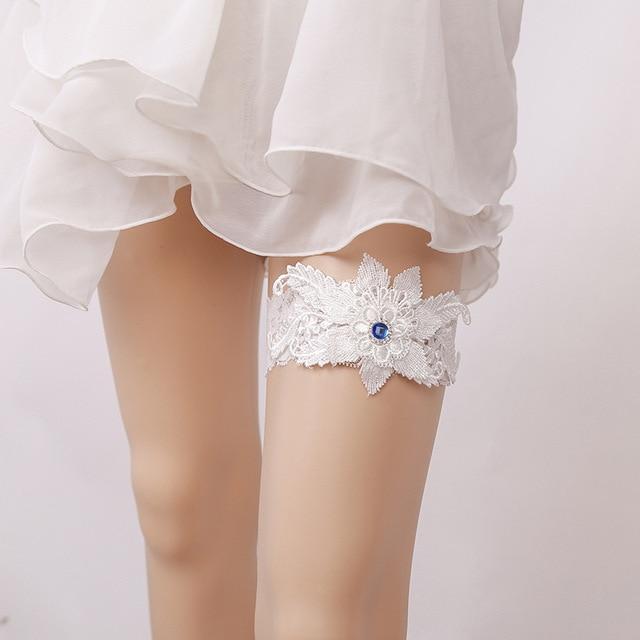 New ladies white wedding garter com strass noiva feito mo flor new ladies white wedding garter com strass noiva feito mo flor strass coxa garter belt junglespirit Image collections