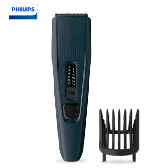 Philips Haarschneider serie 3000 Haar Clipper mit edelstahl klingen, 13 länge einstellungen, Schnur verwenden HC3505/15