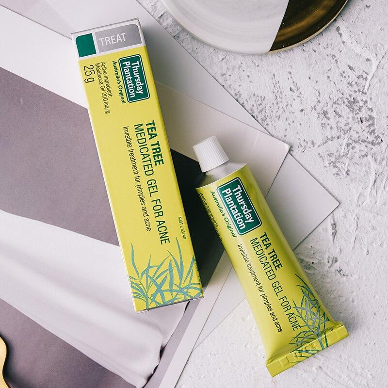 Original Austrilia Thursday Tea Tree Medicated Acne Gel Kill Bacteria Anti Infection Acne Scar Treatment Cream Facial Acne Cream
