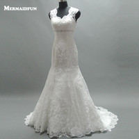 Wide Straps Beads Sweetheart Plus Size Wedding Dress New Elegant Court Train Lace Bridal Gown For Women