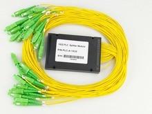 3.0mm Diameter Fiber 1550nm Optical Fiber 1×32 ABS Coupler Splitter Module for PON Networks SC/APC