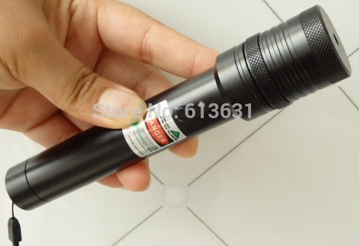 Green Laser Pointer Pen 10000mw 532nm High Power Military Burn Visible Beam SOS burning match camping