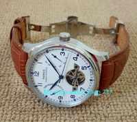 蝶バックル 43 ミリメートルパーニスパワーリザーブ自動自己風機械式ムーブメントの男性の機械式時計 gl1