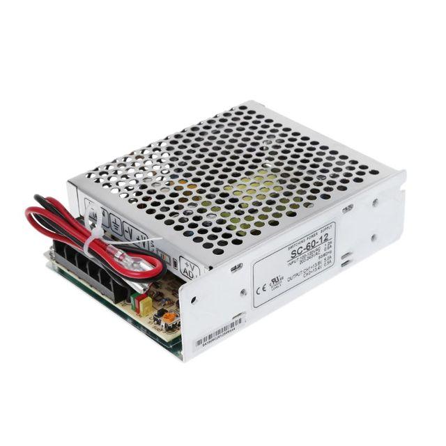 60W 12V 5A uniwersalny zasilacz UPS/zasilanie przełączające Monitor funkcja 60W 12V 5A (SC60W 12)