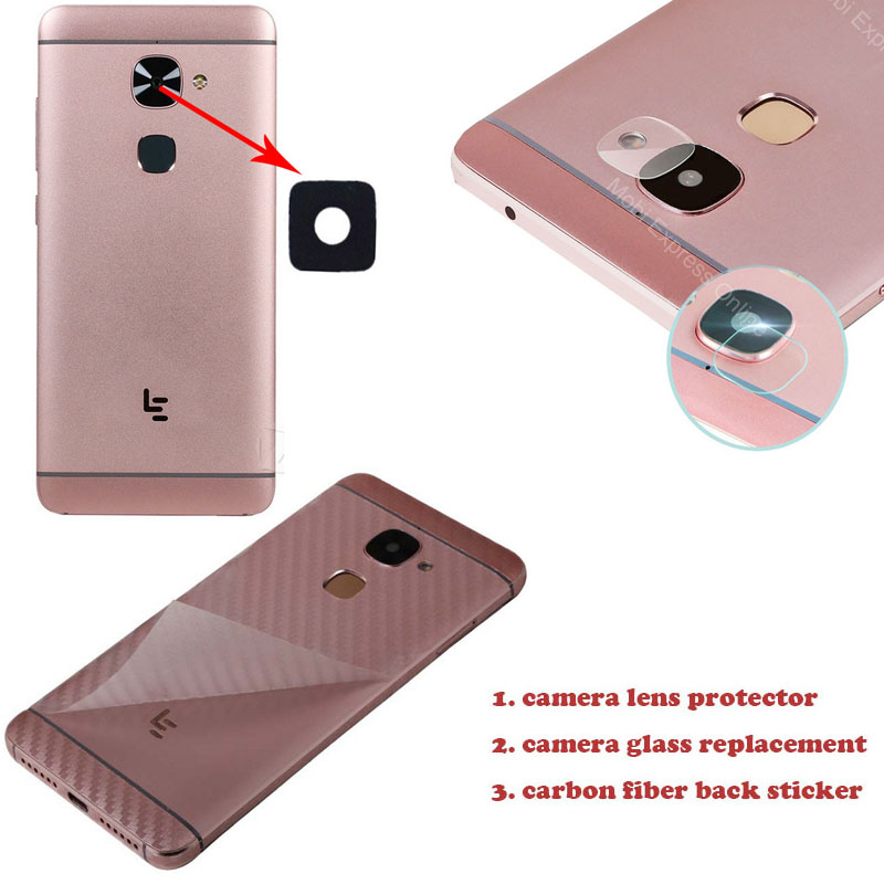 Cell Phones & Accessories Cell Phone Accessories Lente Back Fotocamera Vetrino Rear Glass Camera+biadesivo Huawei Honor 7i Shot X