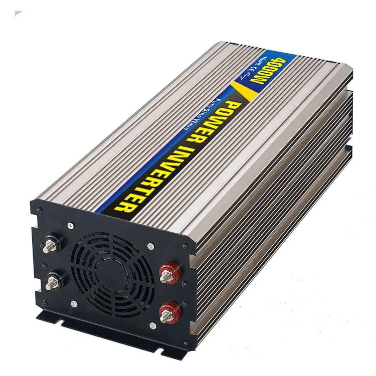Smart Series Pure Sine Wave Inverter 4000W DC48V to AC 110V 220V Surge Power 8000W Power Inverter Promotion
