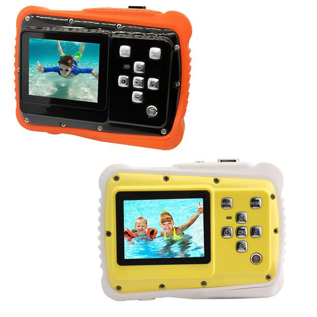 WTDC-5262J Children's Waterproof Digital Camera 2017 New Version Dust Resistant 5MP 3 Meters Waterproof 720P 12 MP Kids Camera