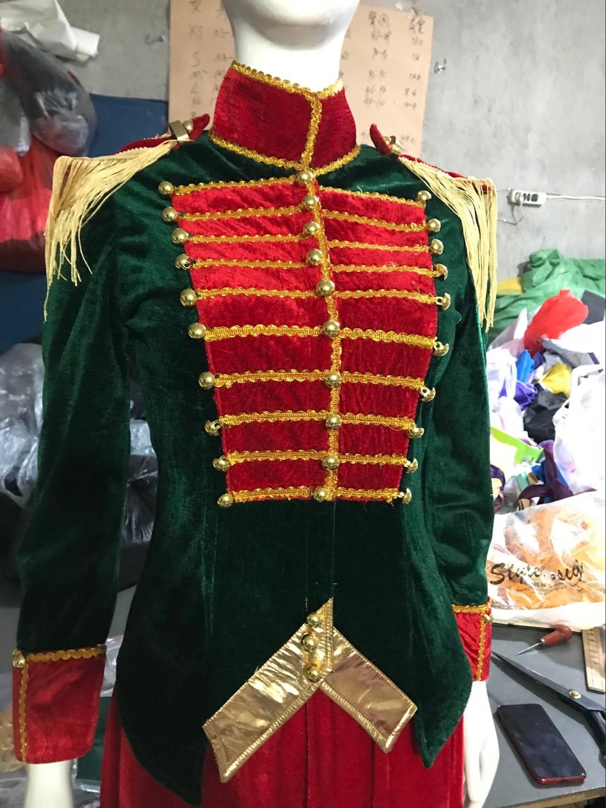 The Nutcracker And The Four Realms  Women Clara Costume Princess Clara Mackenzie Foy fancy suit dress costumes