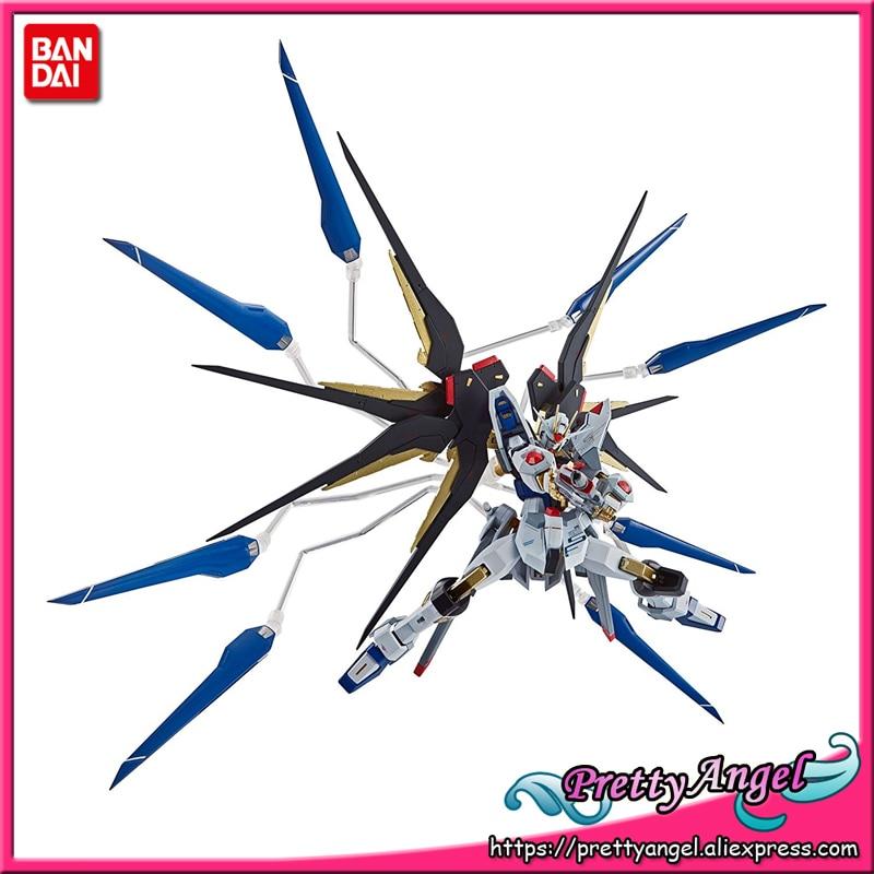 Genuine Bandai Tamashii Nations METAL Robot Spirits Mobile Suit Gundam SEED Destiny Strike Freedom Gundam Action Figure gundam seed destiny original bandai tamashii nations nxedge style nx 0003 action figure destiny gundam