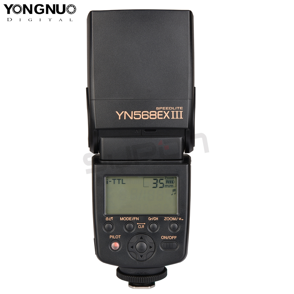 вспышка yongnuo yn 568ex ii встроенный приемник
