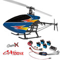 Hot New CX250SE 2.4G Flybarless RC Helicopter Super Combo With 4PCS Copterx CX-9G 9G Servo 1PCS 3400KV Brushless Motor