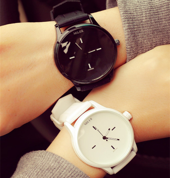 Original MILER Brand Watch 2019 Fashion Soft Silicone Strap Jelly Quartz Watch Wristwatch for Women Ladies Lovers Mujer Relojes