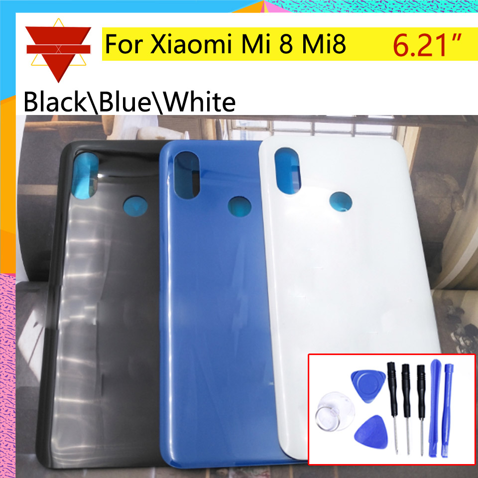 Mi8 New Rear Housing <font><b>Cover</b></font> For <font><b>Xiaomi</b></font> <font><b>Mi</b></font> <font><b>8</b></font> Mi8 M8 Rear <font><b>battery</b></font> <font><b>Cover</b></font> back <font><b>cover</b></font> For <font><b>Mi</b></font> <font><b>8</b></font> houisng Door Case Chassis image