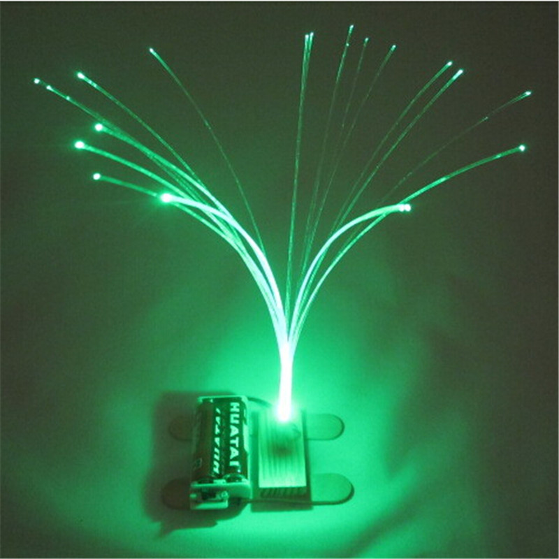 Diy Kit Multicolors Changing Led Optic Fiber Light Lamp
