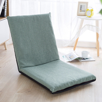 Foldable Large Small Lazy Sofas Cover Chairs Linen Cloth Lounger Seat Couch Tatami Living Room bedroom sofa