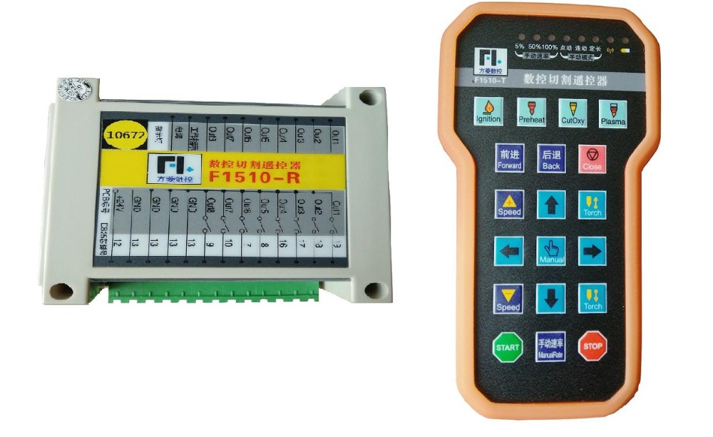 Controlador de Corte Remoto sem Fio Plasma Fangling F1510 Controle F2100b F2300a F2300b