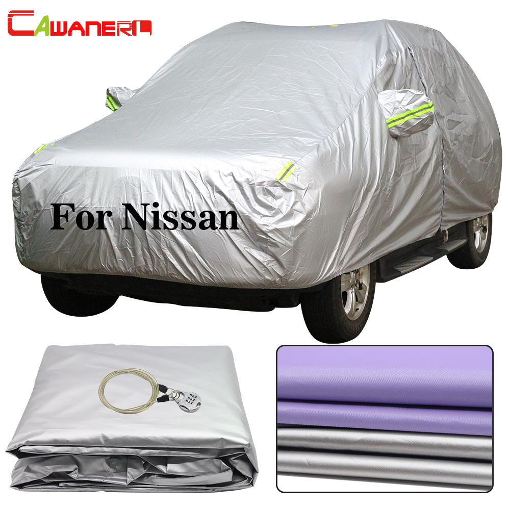 Cawanerl For Nissan Juke Paladin X-Trail Patrol Tiida Quest Rogue Pathfinder Car Cover Sun Rain Snow Resistant Cover Waterproof
