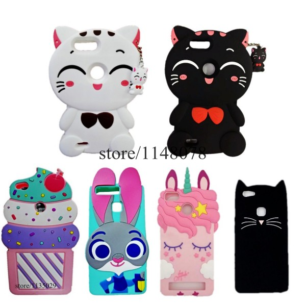OPPO F5 Cover Cute 3D Cartoon Soft Silicone Phone Case For OPPO F5 Youth A73 A79 Plus 6GB 6.0inch