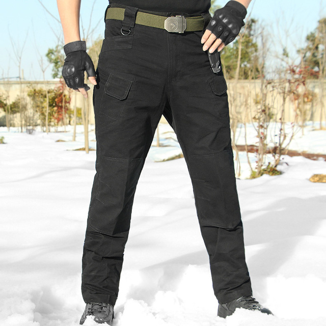 71e04efb5ace 2018 Top Autumn Tactical Pants Military Clothing Men s Casual Cargo Pants  SWAT Combat Pants Man Trousers With Multi Pocket