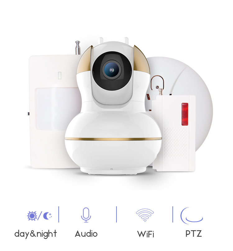 PUAroom HD wireless free APP software phone tablet PC viewing smart PTZ wifi ip camera hd pc camera free drive with a phone