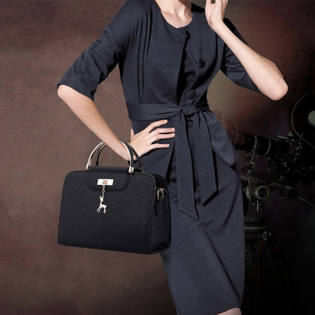 Buy New Women Leather Bag Large Capacity Shoulder Bags Casual Tote