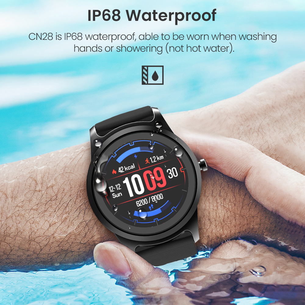 Image 5 - Virtoba CN28 Bluetooth Android IOS Smart Watch 45 days Standby IP68 Waterproof Fitness Tracker Sports Smartwatch For Men Women-in Smart Watches from Consumer Electronics