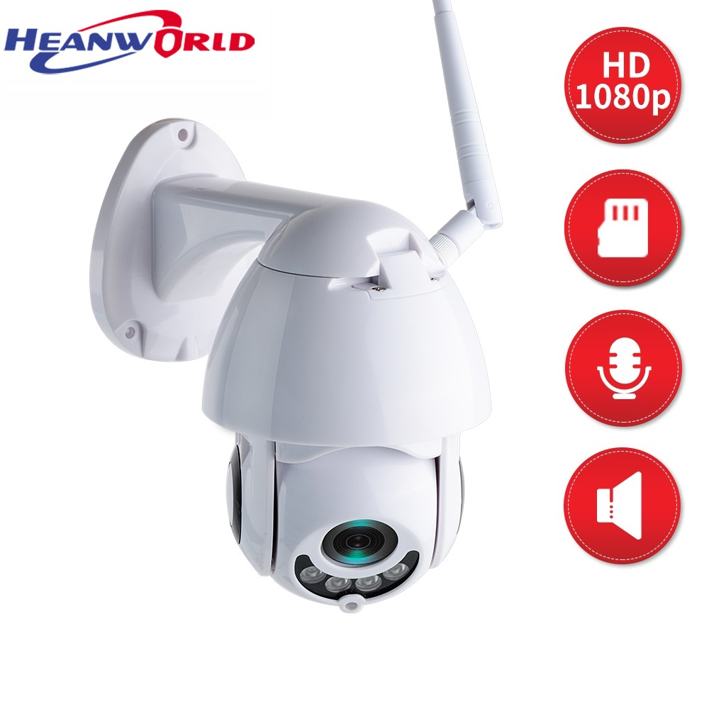 Full HD IP Camera WiFi 1080P 2MP Home Smart Mini PTZ outdoor Security Camera Wireless Surveillance IP Video Cam P2P