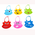Wholesale Cute Baby Bibs Burp Waterproof Silicone Feeding Accessories Infant Saliva Towel Adjustable Cartoon Aprons Baby Bibs