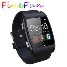 Finefun smart watch uxอัตราการเต้นหัวใจmonitor ring s mart w atch 3กรัมmagsensorเซ็นเซอร์แรงโน้มถ่วงnfcกีฬาบลูทูธนาฬิกาสำหรับandroid ios