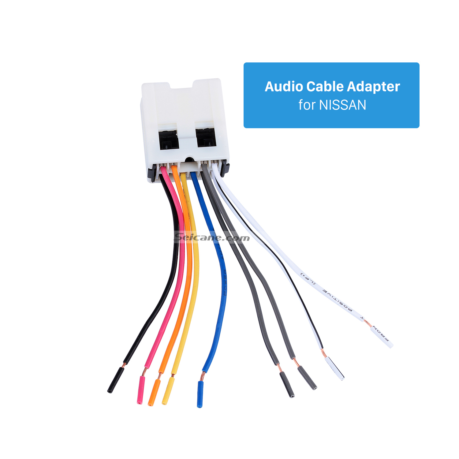 Seicane Audio Cable Wiring Harness Adapter For Nissan Bluebird Paladin Sunny Cefiro Fuga Infiniti In Speaker Line From Automobiles Motorcycles On