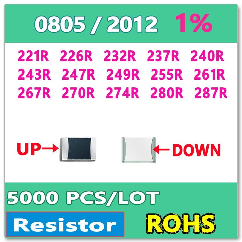 500PCS Resistor 1k Ohm 0805 SMD RoHS NEW
