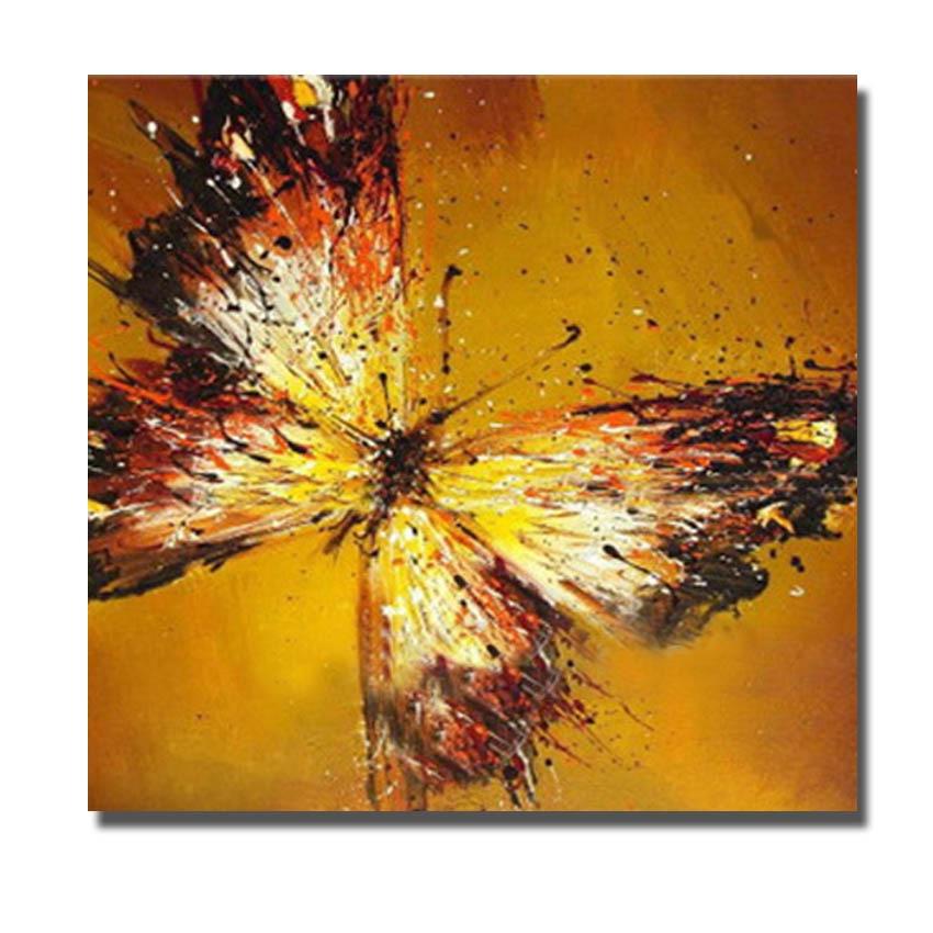 052 10 piezas mixtas a granel Forma de Mariposa pintura de madera Fantasma Art