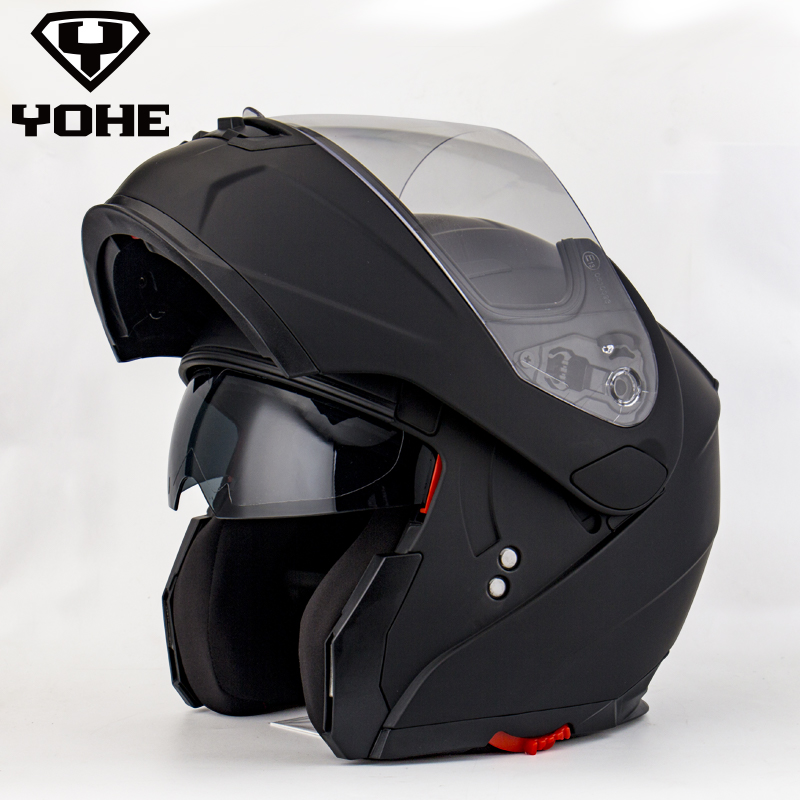 YOHE YH-FF-958 Helmet ECE Flip Up Motorcycle Helmet Motocicleta Casco Helmets Motocross Ece racing Flip up helmet 2017 new ece certification ls2 motocross motorcycle helmet ff352 full face motorbike helmets made of abs and pc silver decadent