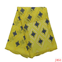 Latest 2019 African Lace Fabric New Arrival Guipure Lace Fabric For Clothing HA451