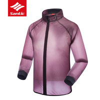 Santic Windproof Cycling Jackets Men Women Waterproof Anti UV MTB Road Bike Raincoat Cycling Jerseys Outdoor Bicycle Clothing