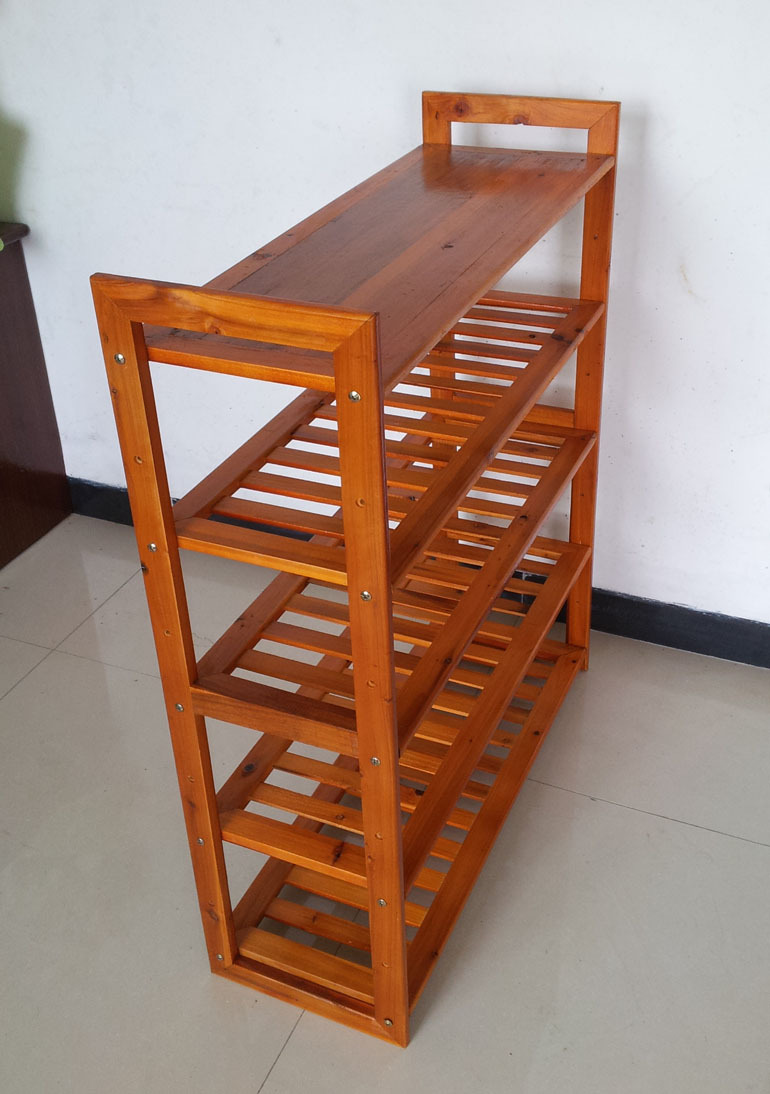 Aliexpress.com : Buy Solid wood compartment shoe rack shoe rack ...