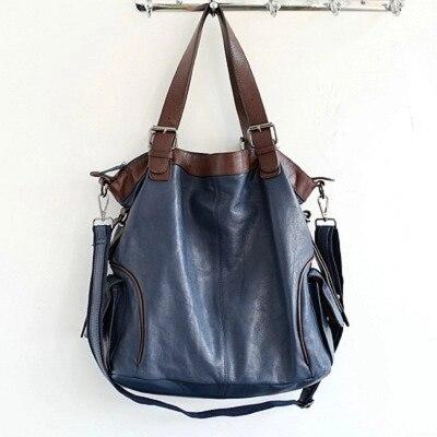 Женская новая Большая сумка из натуральной кожи женская 100% овчина черная зеленая красная большая сумка на одно плечо женская повседневная