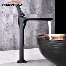 Grifo de lavabo negro, grifos de lavabo, grifo de lavabo de baño con un solo Mango, cubierta de agujero, lavabo Vintage, grifo mezclador frío caliente, grúa B554