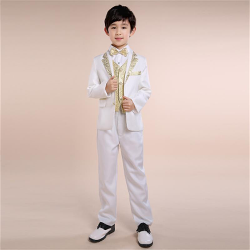 4 colors optional fashion baby boys suit kids blazers boy suit for weddings prom formal spring autumn wedding dress boy suits new boys kids suit blazers fashion boy weddings prom suits wedding dress 4 pcs spring autumn children clothing 2 4 6 8 10 years