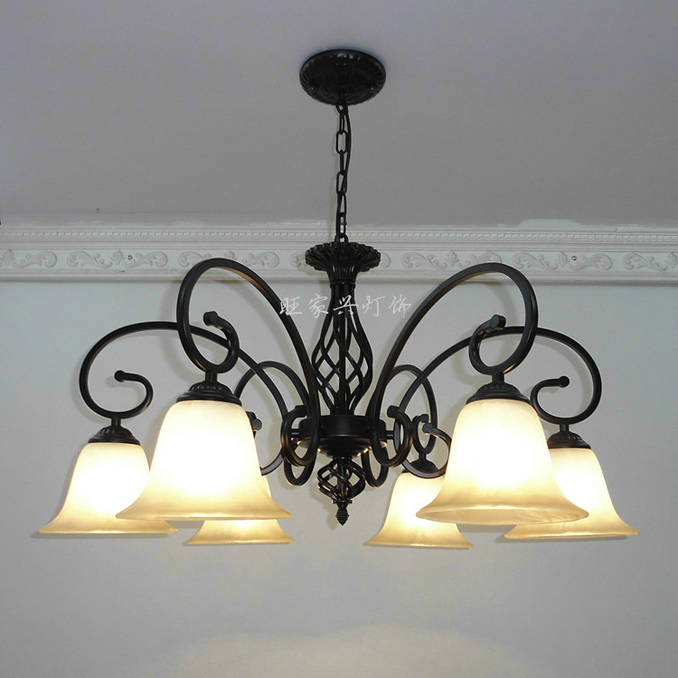 Multiple pendant light luxury vintage wrought iron light lamps rustic lighting lamp ZX126  free shipping ems pendant light luxury vintage wrought iron pendant light lamps rustic lighting pendant lamp