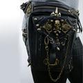 2016 new Men's and women's wallets pu skin restore ancient ways punk rock fashion rivet bag