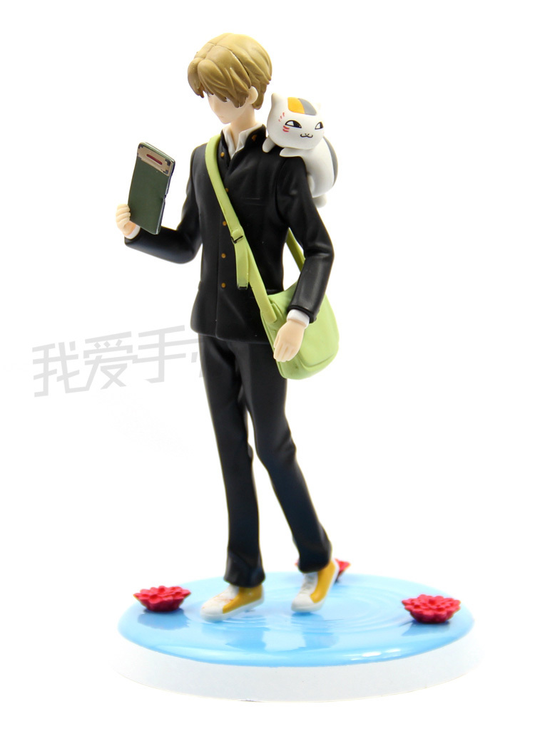 ФОТО Yuki Midorikawa Natsume-anime Natsume Takashi Madara/Teacher Cat Scene 18CM PVC Figure Toys New In Box