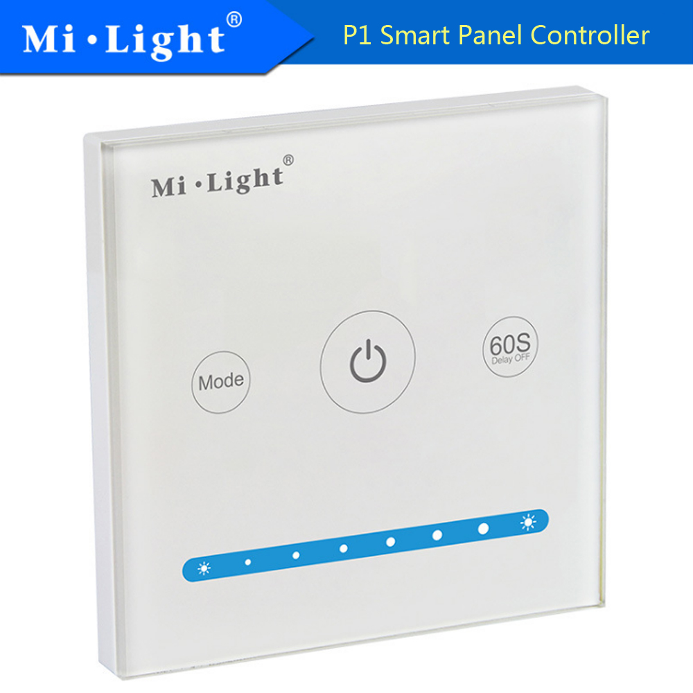 Milight P1 Smart Panel Controller 2.4ghz Led Bulb Controller 5a/channel 15a 9 Color Changing Mode Led Controller Dc12-24v Elegant And Graceful Lighting Accessories Lights & Lighting