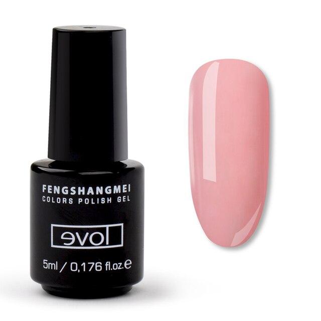 fengshangmei 5ml UV Gel Nail Polish Home Use Permanent Enamels Easy ...