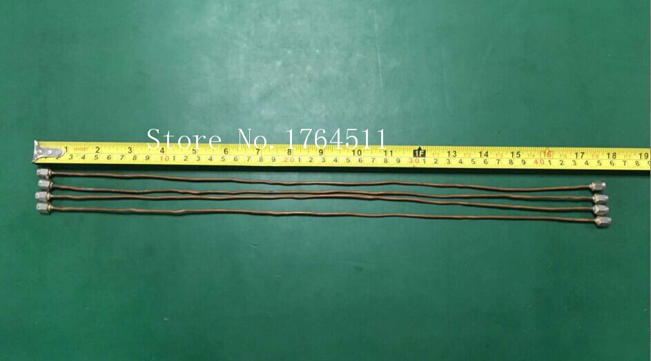 [BELLA] SMA-JJ/SMA SMA DC-20GHZ 0.45M Import Revolution RF Microwave Tube Test Cable  --5PCS/LOT